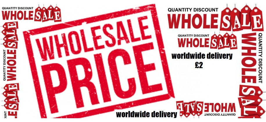 Wholesale Price £2 worldwide Delivery