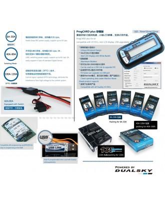 Wholesale 5pcs Dualsky XC10036A ESC High Voltage with 5 FREE DUALSKY Prog Card