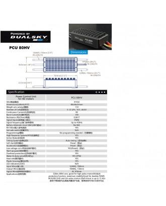Wholesale 11pcs Dualsky PCU 80 Amps High Voltage Series Brushless Drive Unit for UAV