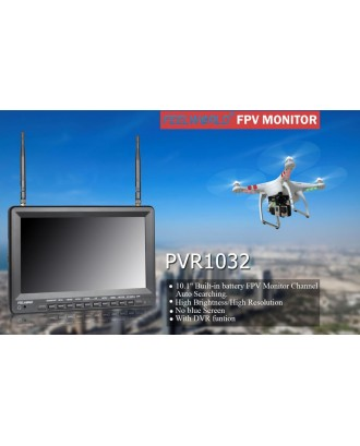 Wholesale 7pcs Feelworld FPV Monitor with Built-in Battery PVR1032