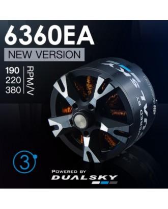 Wholesale 11pcs Dualsky XM6360EA-11, XM6360EA-19, XM6360EA-22 Motors for RC Airplane