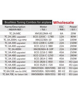 Wholesale 11pcs Dualsky TC.3A.15E Motor and ESC