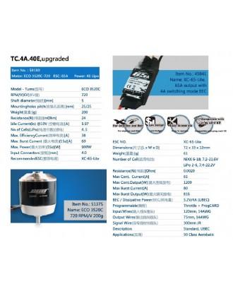 Wholesale 11pcs Dualsky Tuning Combo TC.4A.40E