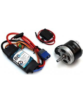 Wholesale 11pcs Dualsky Tuning Combo TC.6A.70E for 60'' 3D Model