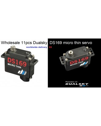 Wholesale 11pcs Dualsky DS169 Micro Thin HV Wing Servo