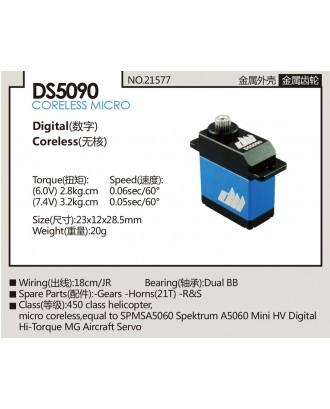 Wholesale 11pcs Dualsky DS5090 Digital Coreless Micro Servo