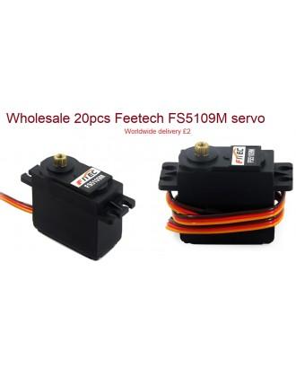 Wholesale 20pcs Feetech FS5109M Analog Servo