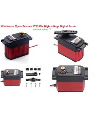 Wholesale 20pcs Feetech FT5335M Ultra High Torque HV Digital Giant Servo