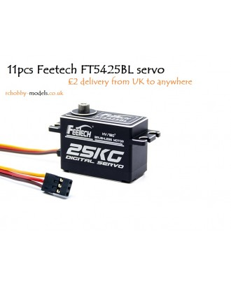Wholesale 11pcs Feetech FT5425BL Digital Servo 180 Deg