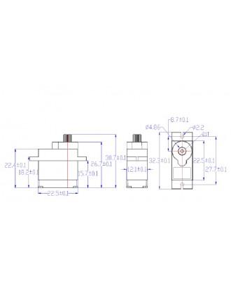 Wholesale 25pcs Feetech FS90MG 9g Micro Analog Servo