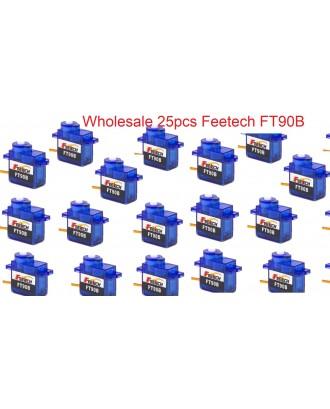 Wholesale 25pcs Feetech FT90B Arduion Micro Digital Servo 9g 180 Running Degree
