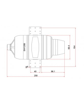 Wholesale 7pcs SWIWIN SW120B Turbine Starter and Pump